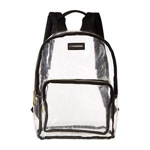 Rampage Clear Glitter Backpack, NWT